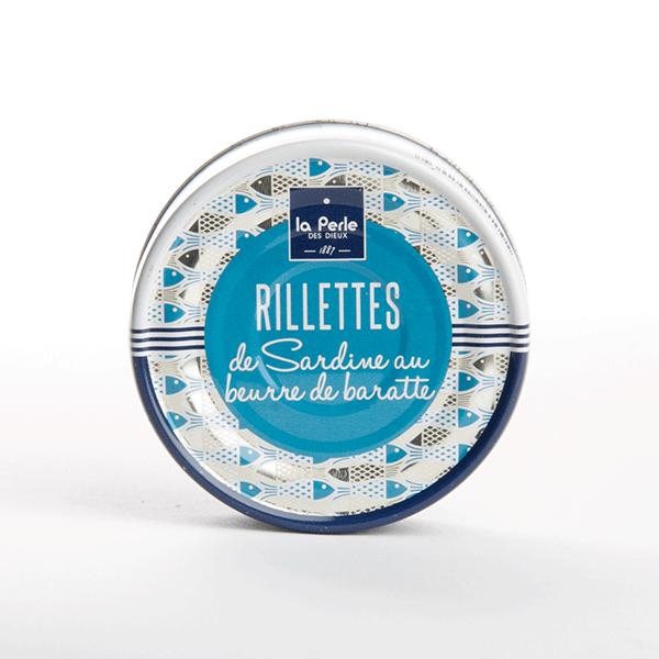 rillettes sardines beurre de baratte