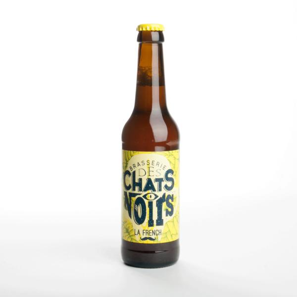 Bière blonde artisanale vente en ligne les chats noirs